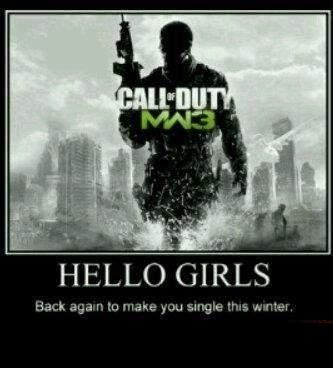 Call Of Duty Modern Warfare 3 It Wants To Take Your Man Fly