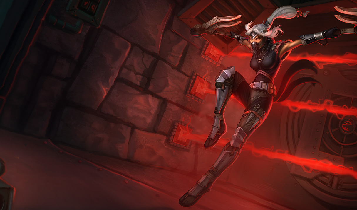 Sexy league of legends akali