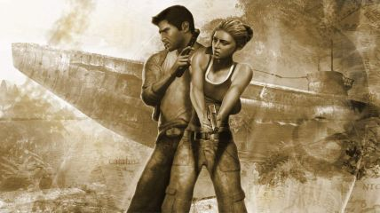 Uncharted 3 - Nathan Drake and Elena Fisher