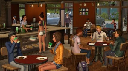 Sims 3 University Life Screenshot