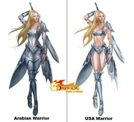 Dragon's Call Warrior Comparison