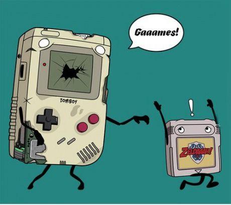 Zombie Gameboy 3-8-13